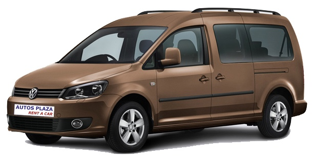 Alquilar VW Caddy en Tenerife